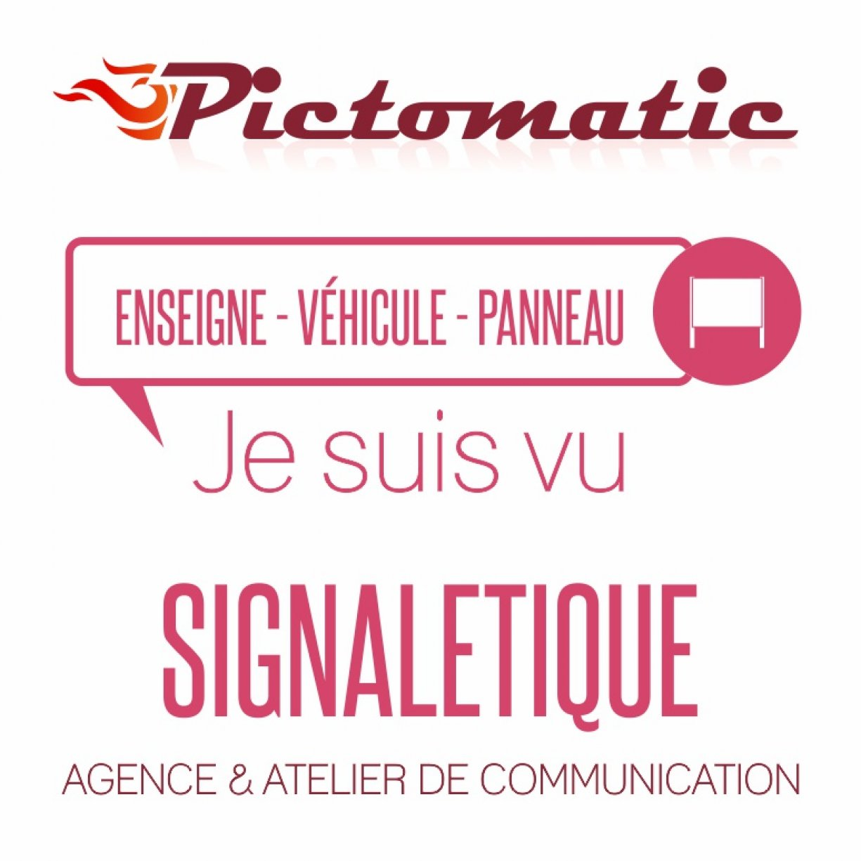 Pictomatic Signalétique
