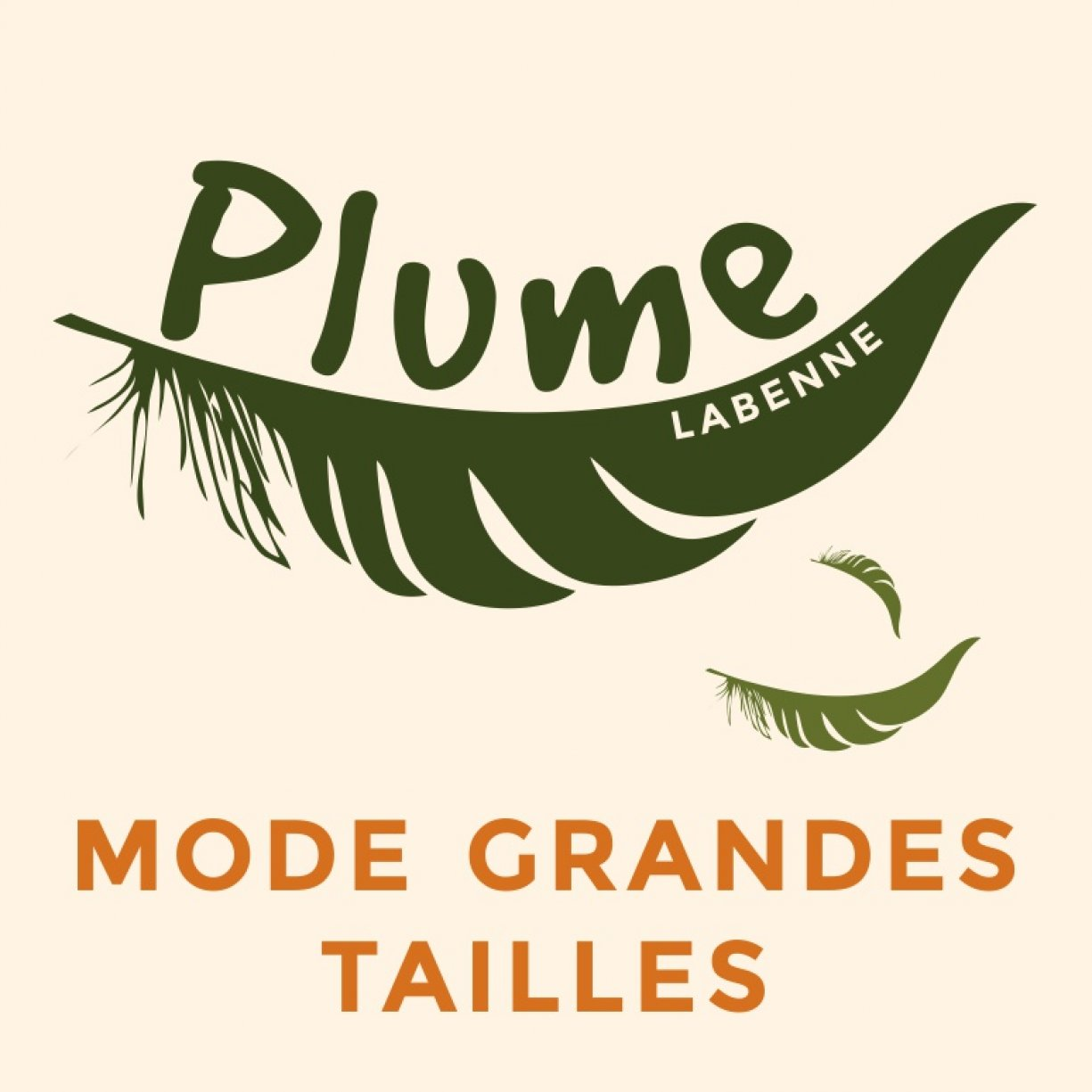 Plume Mode Grandes tailles